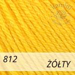 Baby Wool 812 żółty
