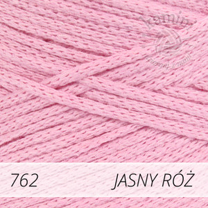Macrame Cotton 762 jasny róż