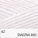 Jeans Plus 62 śnieżna biel