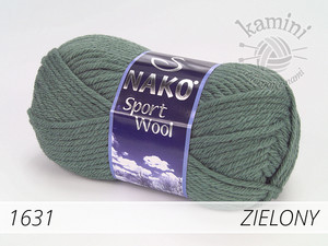 Sport Wool 1631 zielony