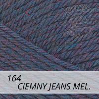 Universa 164 ciemny jeans mel.