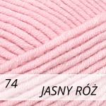 Jeans Plus 74 jasny róż