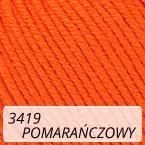 Baby Cotton 3419 pomarańczowy