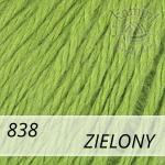 Baby Wool XL 838 zielony