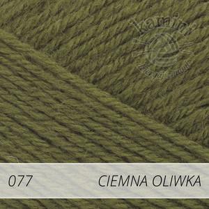 Merino Gold 077 ciemna oliwka
