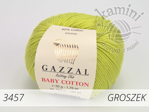 Baby Cotton 3457 groszek