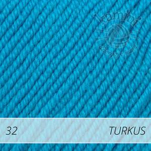 Baby Merino 32 turkus