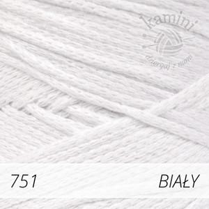 Macrame Cotton 751 biały