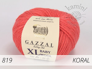 Baby Wool XL 819 koral