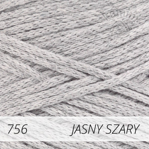 Macrame Cotton 756 jasny szary