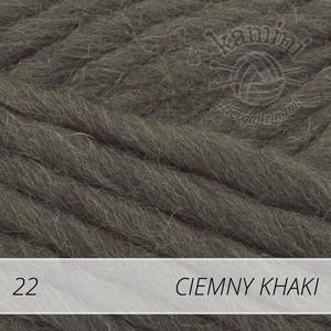 Eskimo 22 ciemny khaki