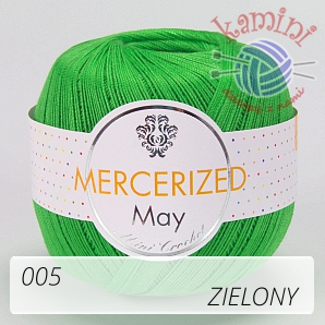 Mercerized 005 zielony
