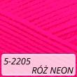 Kotek 5-2205 róż neon