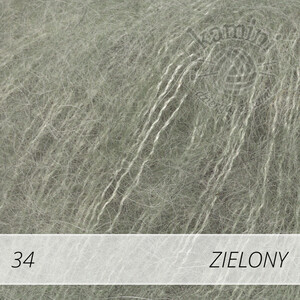 Kid-Silk 34 zielony