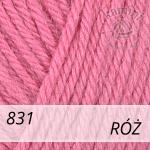 Baby Wool 831 róż