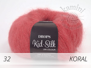 Kid-Silk 32 koral
