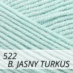 Cotton Gold 522 bardzo jasny turkus