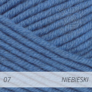 Big Merino 07 niebieski