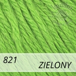 Baby Wool XL 821 zielony
