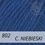 Baby Wool 802 ciemny niebieski