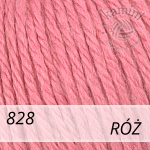 Baby Wool XL 828 róż
