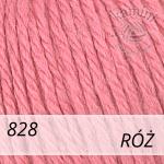 Baby Wool XL 828 róż