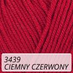 Baby Cotton 3439 ciemny czerwony