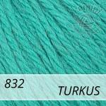 Baby Wool XL 832 turkus