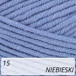 Jeans Plus 15 niebieski