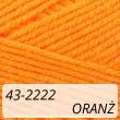 Kotek 43-2222 jasny oranż