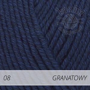 Cotton Merino 08 granatowy