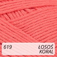 Bella 619 łosoś / koral