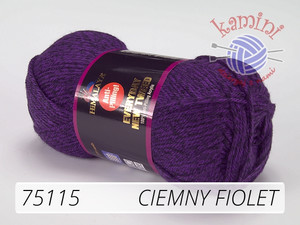 Everyday New Tweed 75115 ciemny fiolet