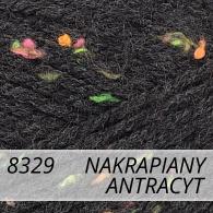 Bravo 8329 nakrapiany antracyt