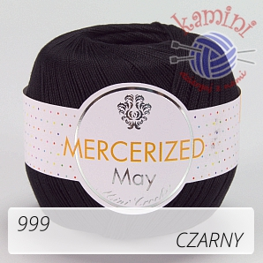 Mercerized Mini Crochet 999 czarny