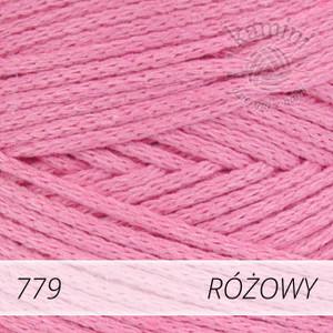 Macrame Cotton 779 różowy