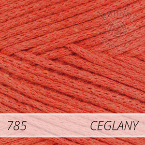 Macrame Cotton 785 ceglany
