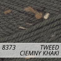 Bravo 8373 ciemny khaki tweed