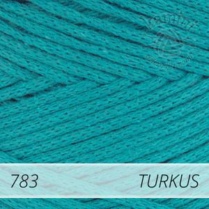 Macrame Cotton 783 turkus