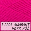 Kocurek 5-2203 amarant / jaskrawy róż
