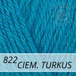 Baby Wool 822 ciemny turkus