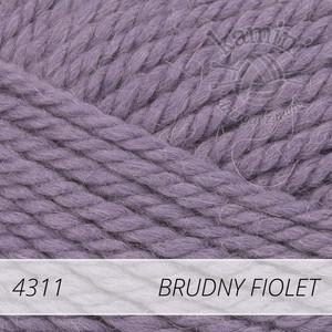 Nepal 4311 brudny fiolet