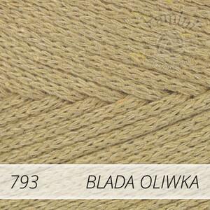 Macrame Cotton 793 blada oliwka