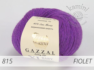 Baby Wool XL 815 fiolet