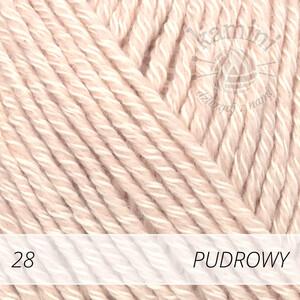 Cotton Merino 28 pudrowy