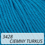 Baby Cotton 3428 ciemny turkus