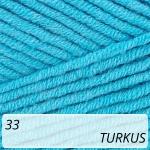 Jeans Plus 33 turkus