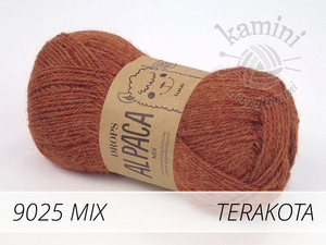 Alpaca Mix 9025 terakota