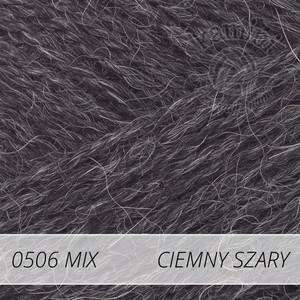 Alpaca Mix 506 ciemny szary