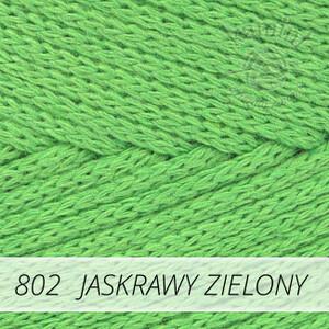 Macrame Cotton 802 jaskrawy zielony